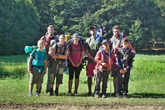 Putovanie vĺčat Malými Karpatami (22.-24.8.2016)