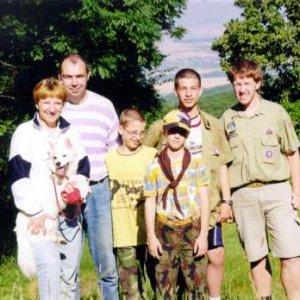 Putovná štvordňovka na Tríbeč (4.7.-7.7.2002)