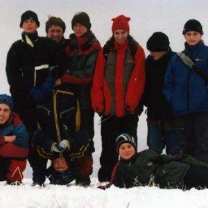 Na vrchole Zlatého vrchu zvaného aj Kolberg