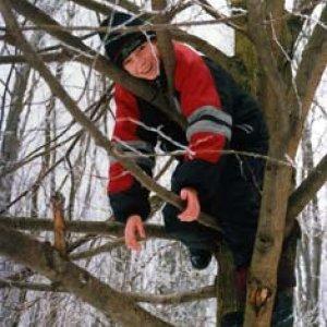 Zimná výprava a Skautské hry v knižnici (február 2003)