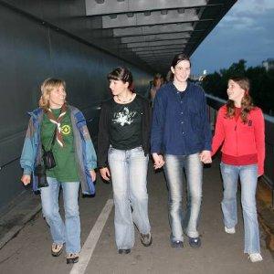 Návšteva skautov z Lučenca (19.-21.5.2006)