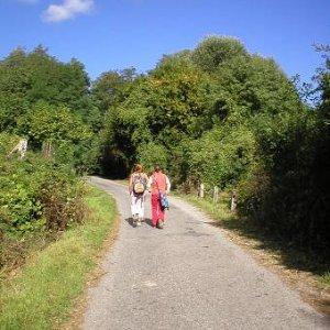9.9.2006  10:08 / Cesta na Modranské skautské dni