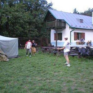9.9.2006  11:30 / ... Tigrom Woodsom a jeho priateľmi