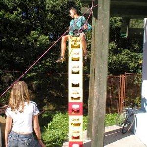 10.9.2006  9:32 / Lanové aktivitky až na verandu