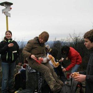 6.1.2007  11:36 / Posilnenie na vrchole Zárub