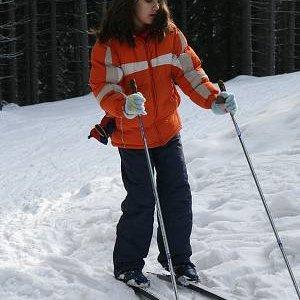 5.3.2007  10:05 / Najmladšia účastníčka Nika