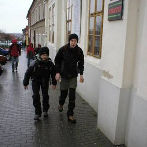 24.3.2007  10:07, autor: Amigo / Vyrážame plní odhodlania. Prší...