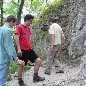 30.6.2007  12:37, autor: Amigo / Príprava stavby schodov...
