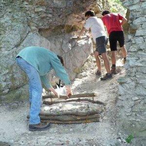 Výprava na Ostrý Kameň (29.6.-1.7.2007)