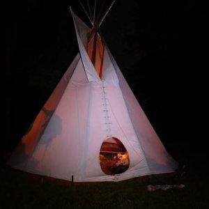 19.7.2007  22:40, autor: Amigo / Noc na tábore