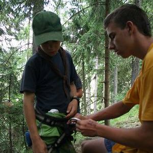 22.7.2007  12:21, autor: Teoretik / Skauti majú výuku lezenia