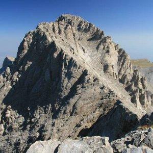 25.8.2007  9:37, autor: Teoretik / Najvyšší vrchol Olympu - Mt. Mytikas