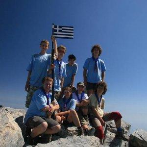 25.8.2007  11:09, autor: Teoretik / Mt. Mytikas - 2919 m