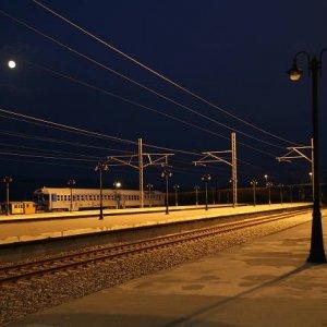 26.8.2007  19:44, autor: Teoretik / Paleofarsalos - stanica v poliach, kde sme trčali až do neskorej noci