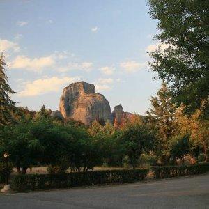 27.8.2007  18:36, autor: Teoretik / Večer osvetlilo skaly zapadajúce Slnko