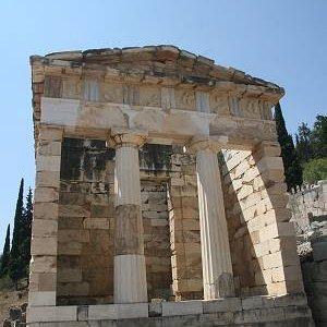 29.8.2007  13:00, autor: Teoretik / Aténska pokladnica v Delfách