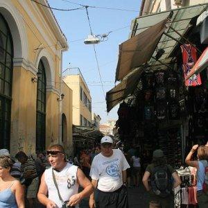 2.9.2007  9:53, autor: Teoretik / Nedeľný blší trh v Aténach