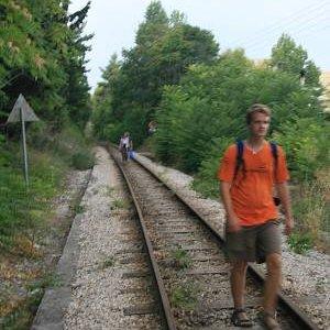 2.9.2007  15:34, autor: Teoretik / Postupujeme po starej železnici