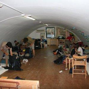 4.9.2007  6:15, autor: Teoretik / Klubovňa, v ktorej sme boli ubytovaní v Aténach