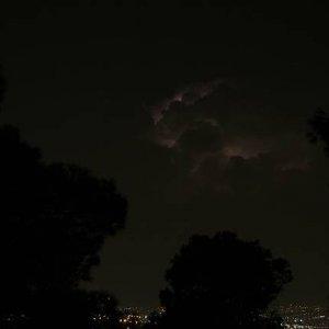 5.9.2007  0:05, autor: Teoretik / Nočná búrka v horách za Thessalonikami