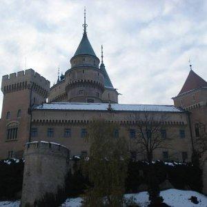 17.11.2007  9:32, autor: MartinKa / Bojnický hrad zboku