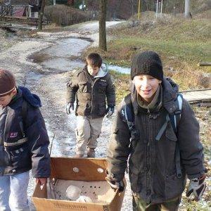 15.12.2007  11:55, autor: Amigo / Ľadová bena, by nám ruky nemrzli...