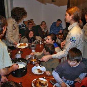 15.12.2007  21:29, autor: Teoretik / Počas večere