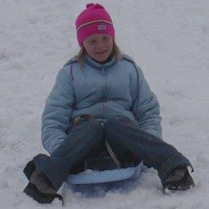 2.2.2008  10:25, autor: Amigo / Dnešný deň bol v znamení jašenia sa na snehu...