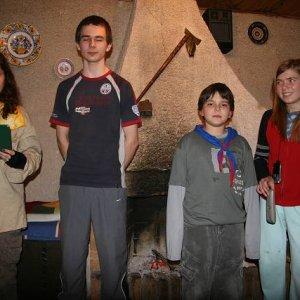 Zimný tábor Demänovská dolina (24.2.-1.3.2008)