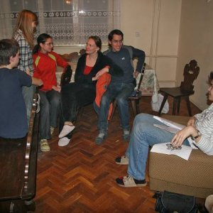 7.3.2008  21:47, autor: Teoretik / Už v prvý večer bola prvá prednáška