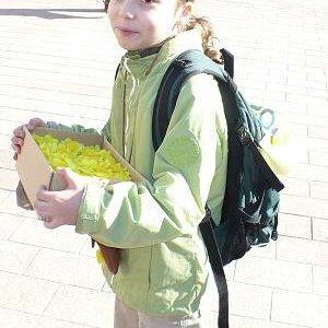 11.4.2008  7:45, autor: Amigo / Hanka - tradične najmladšia účastníčka