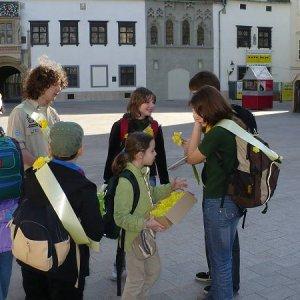 11.4.2008  7:47, autor: Amigo / Na Hlavnom námestí
