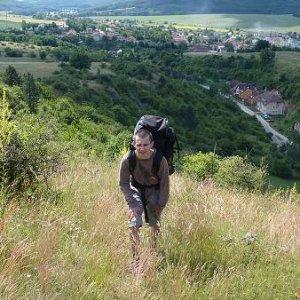 14.6.2008  9:50, autor: Amigo / Maťo prichádza s nákladom a súťaž výšlapu na kopec môže začať...