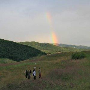 8.7.2008  20:15, autor: Teoretik / Boj bol prerušený búrkou a zjavila sa krásna dúha