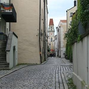 20.8.2008  13:54, autor: Teoretik / Uličky starého Passau