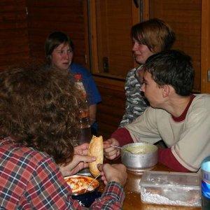 27.9.2008  21:38, autor: Teoretik / Neskorá večera...