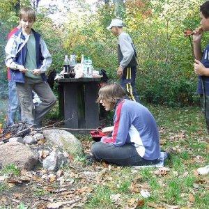 11.10.2008  14:34, autor: Johny / Opekanie špekáčok
