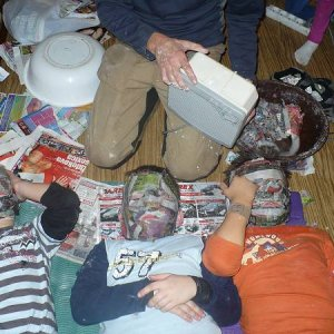 8.11.2008  18:49, autor: Amigo / Masky musia byť úplne suché...