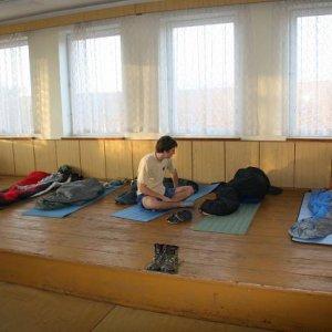 15.11.2008  7:47, autor: Teoretik / Ubytovanie bolo skvelé, škoda, že nás išlo iba päť