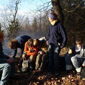 13.12.2008  14:10, autor: Amigo / Obed na Kobylej skale