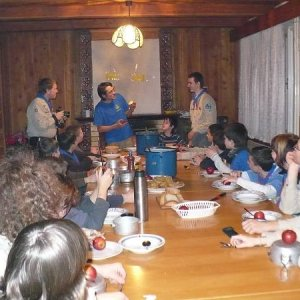 13.12.2008  21:30, autor: Amigo / Rozkrajovanie jabĺk
