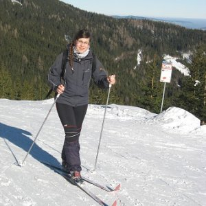 Roversko-vodcovská bežkovačka v Alpách (10.1.2009)