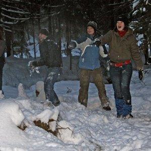 Zimný tábor Demänovská dolina 2009 (15.2.2009 - 21.2.2009)