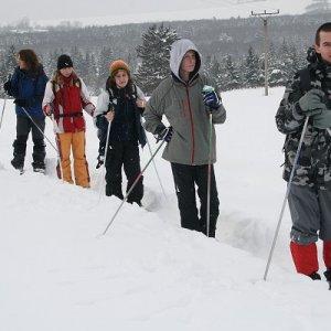 16.2.2009  12:14, autor: Teoretik / Postupujeme na okraji nízkotatranských lesov