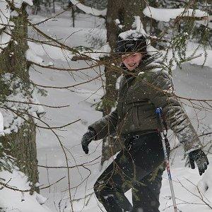 17.2.2009  12:27, autor: Teoretik / Gepa ide zhadzovať sneh zo stromu