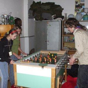 28.2.2009  0:13, autor: Double L / Stolný futbal v klubovni je skvelá vec