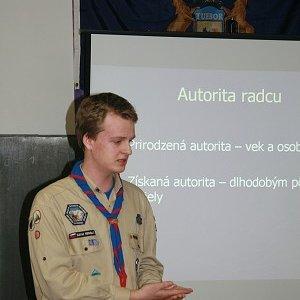 28.2.2009  12:16, autor: Teoretik / Martinka prednášal o vedení družiny