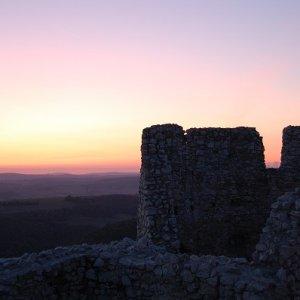 25.9.2009  19:06, autor: Ivana / Večerná nálada na hrade