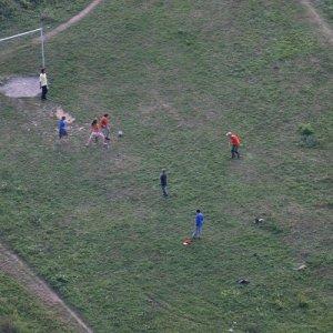 26.9.2009  18:35, autor: Teoretik / Druhá polovica sa riadne vyšportovala na večernom futbale