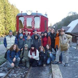 30.10.2009  9:49, autor: Amigo / Tak, ešte posledná foto s vlakom a môžeme vyraziť...